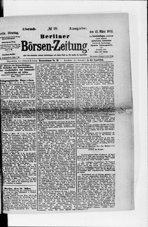 Berliner Börsen-Zeitung vom 12.03.1872