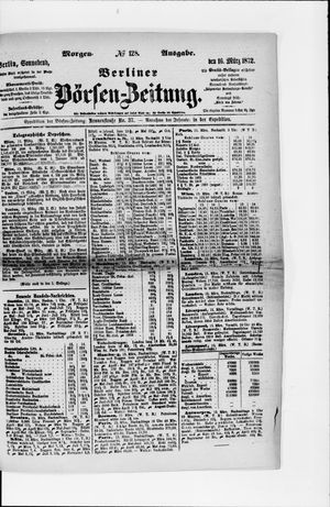 Berliner Börsen-Zeitung vom 16.03.1872