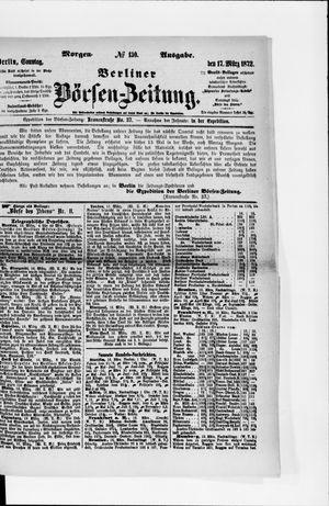 Berliner Börsen-Zeitung vom 17.03.1872