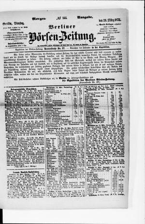 Berliner Börsen-Zeitung vom 26.03.1872