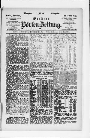Berliner Börsen-Zeitung vom 06.04.1872