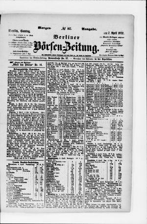 Berliner Börsen-Zeitung vom 07.04.1872