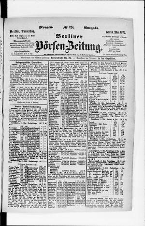 Berliner Börsen-Zeitung vom 16.05.1872