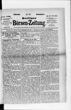 Berliner Börsen-Zeitung vom 17.05.1872