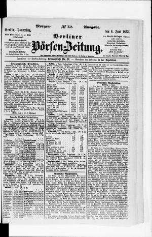 Berliner Börsen-Zeitung vom 06.06.1872