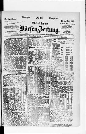 Berliner Börsen-Zeitung vom 07.06.1872