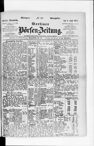 Berliner Börsen-Zeitung vom 08.06.1872