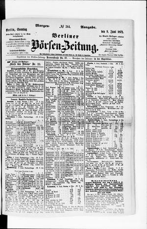 Berliner Börsen-Zeitung vom 09.06.1872