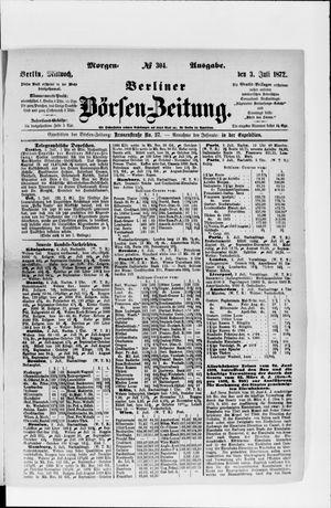 Berliner Börsen-Zeitung vom 03.07.1872