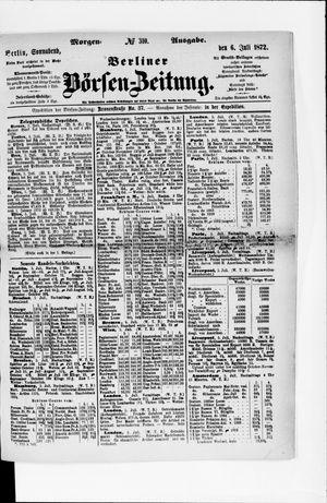 Berliner Börsen-Zeitung vom 06.07.1872