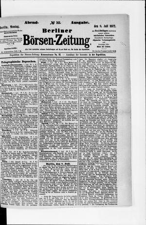 Berliner Börsen-Zeitung vom 08.07.1872