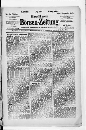 Berliner Börsen-Zeitung vom 02.09.1872