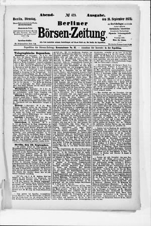 Berliner Börsen-Zeitung vom 10.09.1872
