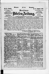 Berliner Börsenzeitung (22.09.1872)