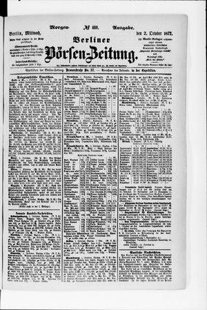 Berliner Börsen-Zeitung vom 02.10.1872