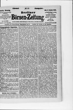 Berliner Börsen-Zeitung on Oct 8, 1872