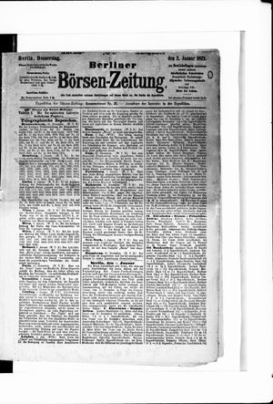 Berliner Börsen-Zeitung on Jan 2, 1873
