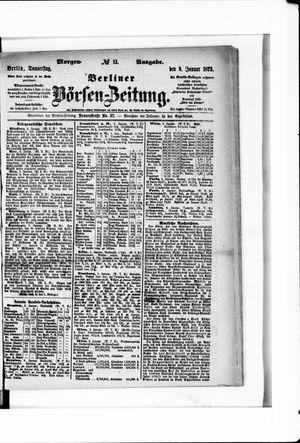 Berliner Börsen-Zeitung on Jan 9, 1873