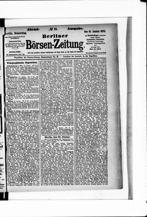 Berliner Börsen-Zeitung vom 16.01.1873