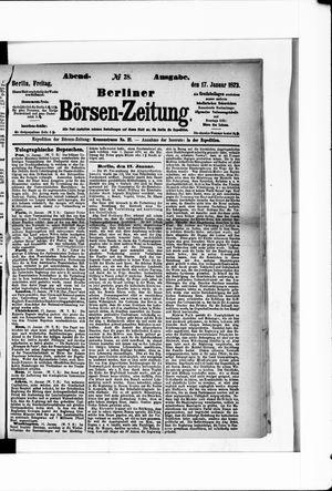 Berliner Börsen-Zeitung vom 17.01.1873