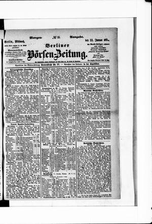 Berliner Börsen-Zeitung on Jan 22, 1873