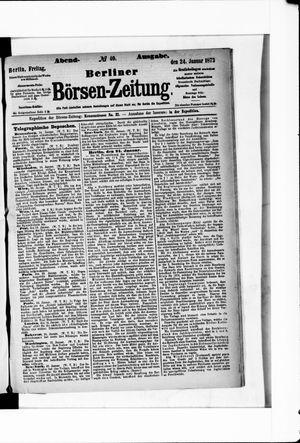Berliner Börsen-Zeitung vom 24.01.1873
