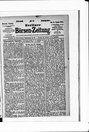 Berliner Börsen-Zeitung on Jan 31, 1873