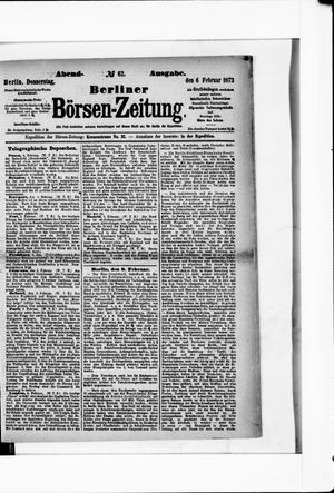 Berliner Börsen-Zeitung vom 06.02.1873