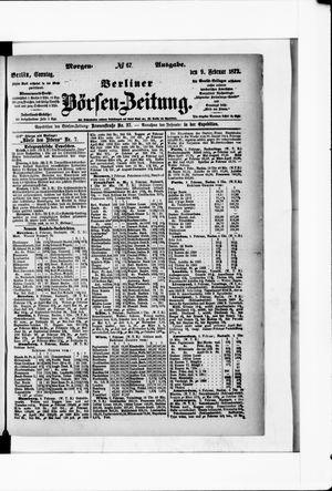 Berliner Börsen-Zeitung vom 09.02.1873
