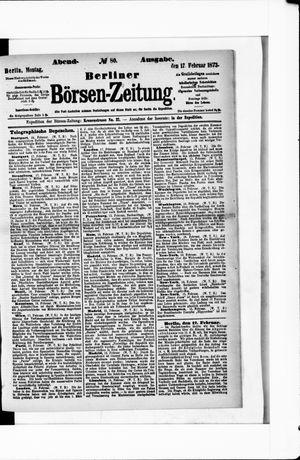 Berliner Börsen-Zeitung vom 17.02.1873