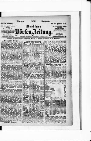 Berliner Börsen-Zeitung vom 23.02.1873