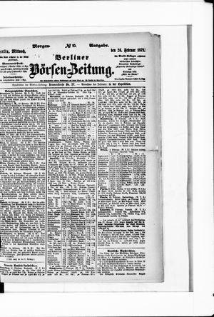 Berliner Börsen-Zeitung vom 26.02.1873