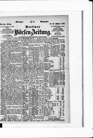 Berliner Börsen-Zeitung vom 28.02.1873
