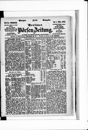 Berliner Börsen-Zeitung vom 01.03.1873