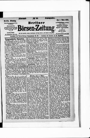 Berliner Börsen-Zeitung vom 04.03.1873