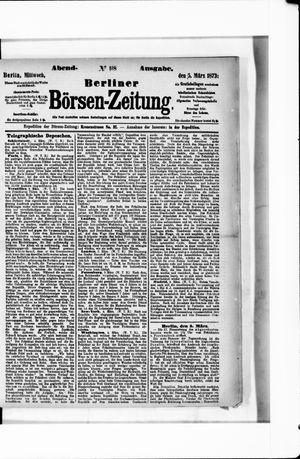 Berliner Börsen-Zeitung vom 05.03.1873