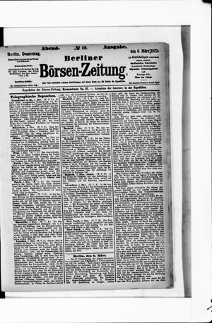 Berliner Börsen-Zeitung vom 06.03.1873