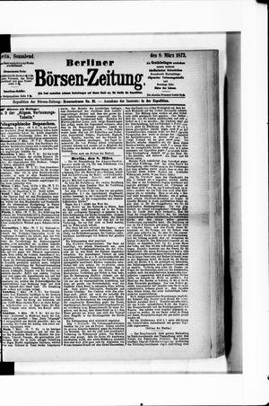 Berliner Börsen-Zeitung vom 08.03.1873