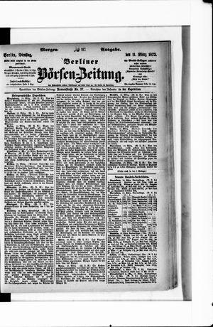 Berliner Börsen-Zeitung vom 11.03.1873
