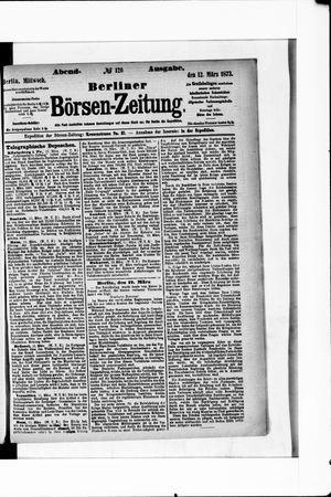 Berliner Börsen-Zeitung vom 12.03.1873