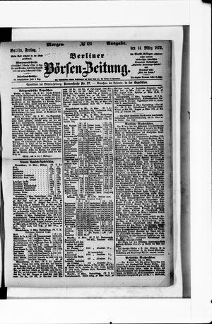 Berliner Börsen-Zeitung vom 14.03.1873