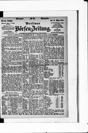 Berliner Börsen-Zeitung vom 18.03.1873