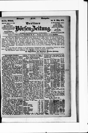 Berliner Börsen-Zeitung vom 19.03.1873