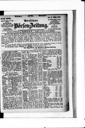 Berliner Börsen-Zeitung vom 21.03.1873