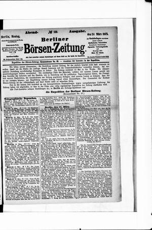 Berliner Börsen-Zeitung vom 24.03.1873