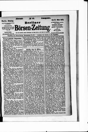 Berliner Börsen-Zeitung vom 25.03.1873