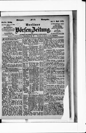 Berliner Börsen-Zeitung vom 11.04.1873