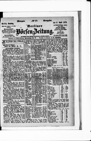 Berliner Börsen-Zeitung vom 13.04.1873