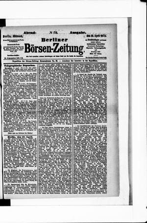 Berliner Börsen-Zeitung vom 16.04.1873