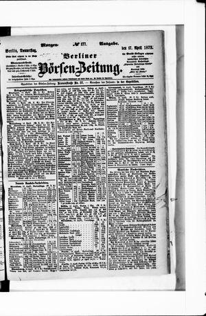Berliner Börsen-Zeitung vom 17.04.1873